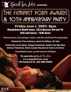 feminist porn flyer